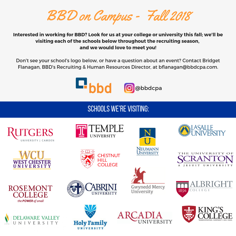 BBD on Campus 2018