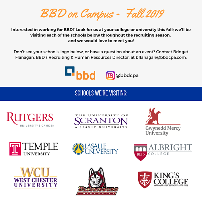 BBD on Campus 2019