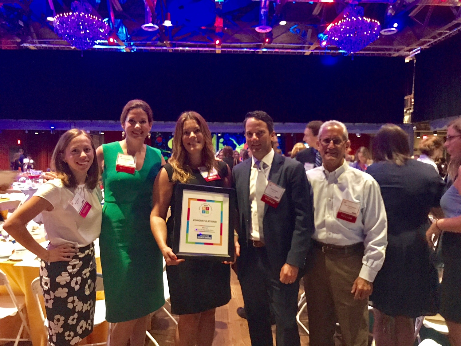 BBD Accepts Best Places To Work Award