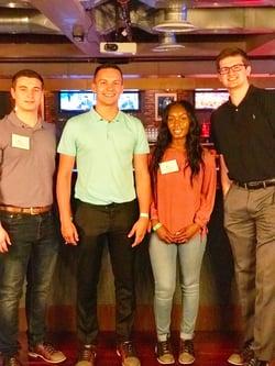 Summer Leadership Program bowling