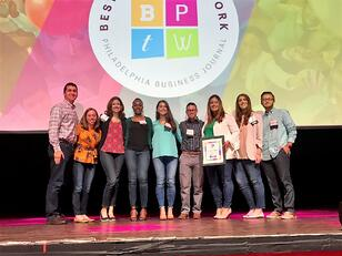 BBD Accepts Best Place To Work Award